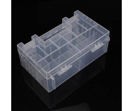 Transparent Battery Box For AA AAA And C Batteries