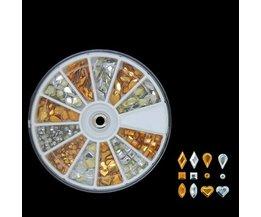 Decoration Wheel Nail Decorations