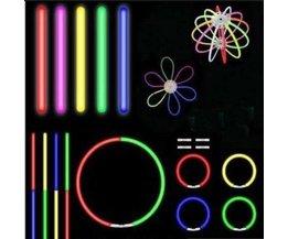 LED Glow Sticks 10 Pieces