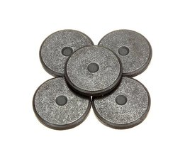 Round Ferrite Magnets 5 Pieces