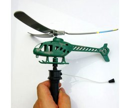 Toy Helicopter With Drawstring
