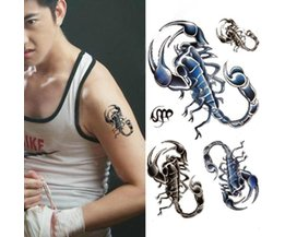 Scorpion Tattoo Stick