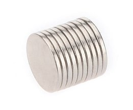 10 Disc-Shaped N35 Neodymium Magnets
