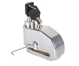 Brake Lock With Alarm For Engines