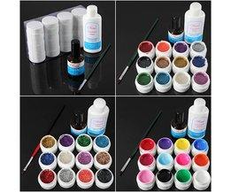 Gel Nail Polish Set 12 Colors