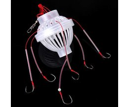 Fishing Tackle With 6 Hooks