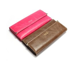 PU Leather Clutch Wallet