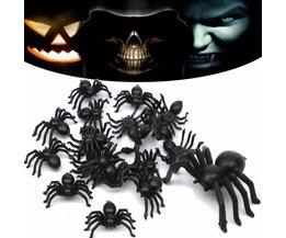 Plastic Spiders 20Pieces