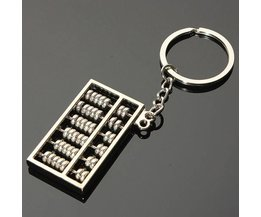 Key Chain With Abacus