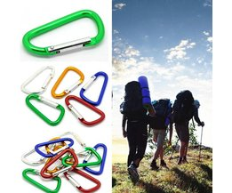 Aluminium Carabiner In Three Sizes