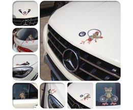 DIY Car Stickers Frog