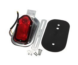 LED Taillight Motorcycle Harley Davidson With Mounting Plate