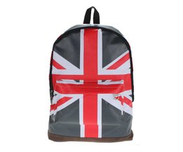 Backpack With English Flag