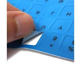 Keyboard Sticker English