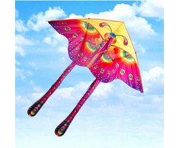 Kite With Butterfly Design