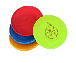 Frisbees Dog In Four Colors