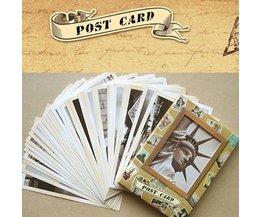 32 Old Postcards
