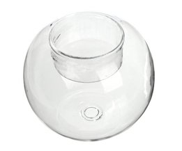 Glass Candle Holder Globe