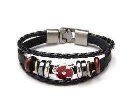 Leather Men'S Bracelet