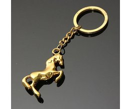 Keyring With Horse