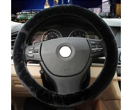 Wool Steering Wheel Cover For Car