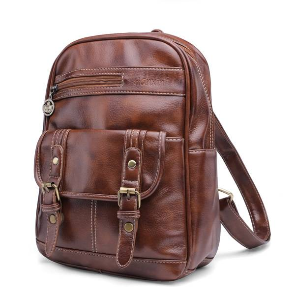 8b241d1f75e7 Vintage Leather Backpack For Women - Buy online - Cheapest