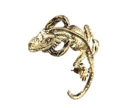 Earrings Lizard
