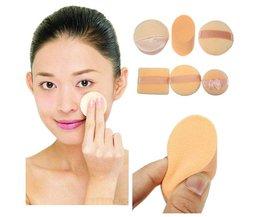 Makeup Sponges Set Of 3 Pieces