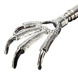 Extendable Back Scratcher With Claw