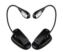 Flexible LED Reading Light With Clip