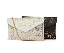 Envelope Clutch PU Leather Lace