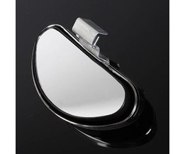 Universal Silver Blind Spot Mirror For Car