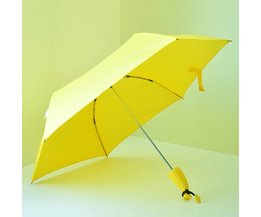Yellow Umbrella In The Form Of A Banana