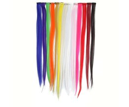 Colored Hair Extensions Clip