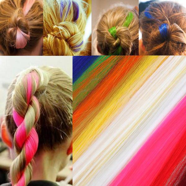 Colored Hair Extensions Clip Buy Online Cheapest Myxl Gadget