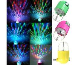 Rotating LED Lamp 3W