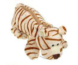 Cuddle With Zipper Animal