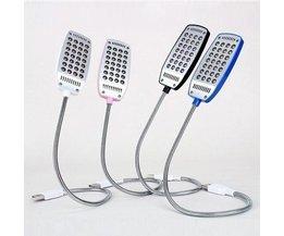 Flexible LED Reading Lamp With USB