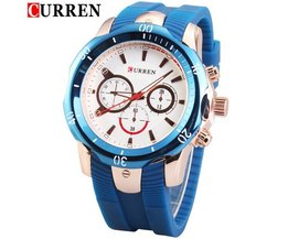 CURREN 8163 Sport Watch Men'S Vintage Style