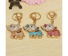 Elephants Keychain In Multiple Colors
