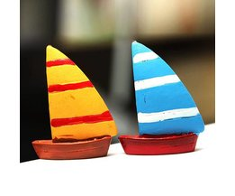 Miniature Sail Boats From Resin
