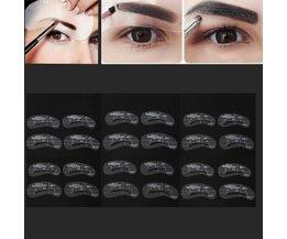 Eyebrow Templates 24Stuks