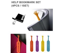 Bookmarks Hand 4 Pieces