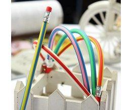Bendable Pencils Gum 5Pieces