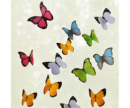 Sticky Notes Butterfly 40 Pieces