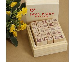 With Stamp Set 25 Stamps