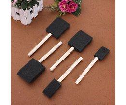 Foam Brush 5 Pieces