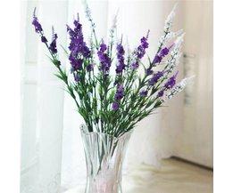 Lovely Lavender Artificial Flower Of Silk