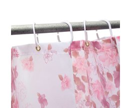 Shower Curtain With Rings